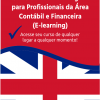 Curso de Business English para Profissionais da Área Contábil e Financeira (E-learning)