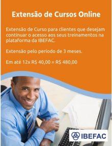 Extensão de Curso Online IBEFAC