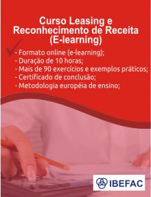 Curso Leasing e Reconhecimento de Receita