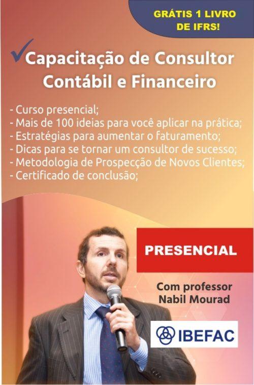 Capacitação de Consultor Contábil e Financeiros